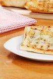 Het brood van het de kaasknoflook van de mozarella royalty-vrije stock afbeelding
