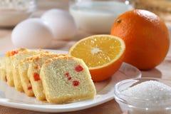 Het brood van het fruit Stock Fotografie