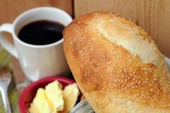 Het brood van het griesmeelbrood Stock Fotografie