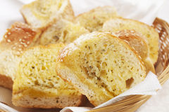 Het Brood van het knoflook Royalty-vrije Stock Fotografie
