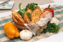 Het Brood van het knoflook Royalty-vrije Stock Foto's