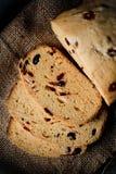 Het brood van Hokkaido van de stroopbalamerikaanse veenbes Royalty-vrije Stock Afbeeldingen