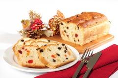 Het brood van Kerstmis. Royalty-vrije Stock Afbeeldingen