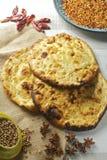 Het brood van Naan Royalty-vrije Stock Foto's