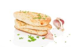 Het brood van Naan. Stock Afbeelding