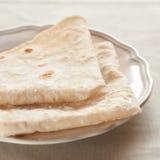 Het Brood van Saj Royalty-vrije Stock Foto's