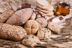 Het brood van samenstellingen Stock Foto
