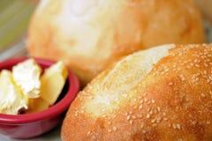 Het broodbrood van het griesmeel Stock Foto