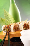Het broodje en het belang van de paling stock fotografie