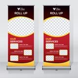 Het broodje op het malplaatje van het bannerontwerp, verticale, abstracte achtergrond, trekt ontwerp, moderne x-banner, rechthoek royalty-vrije illustratie