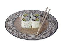 Het Broodje van Californië - Sushi royalty-vrije stock afbeelding