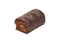 Het broodje van de chocolade Stock Foto