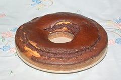 Het broodje van de chocolade Stock Afbeeldingen