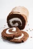 Het Broodje van de chocoladecake Royalty-vrije Stock Afbeeldingen