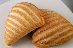 Het broodje van de croissant Royalty-vrije Stock Afbeelding