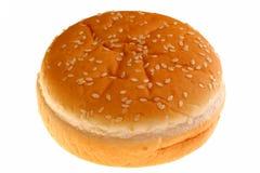 Het broodje van de hamburger Stock Afbeeldingen