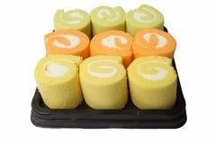 Het Broodje van de Jam van de verscheidenheid Royalty-vrije Stock Foto