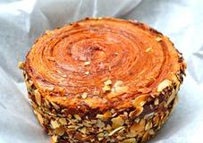 Het broodje van de kaneel Stock Fotografie