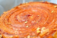 Het broodje van de kaneel Stock Afbeelding