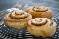 Het broodje van de kaneel Royalty-vrije Stock Fotografie