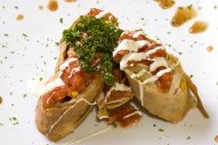 Het broodje van de kip Stock Foto