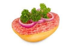 Het broodje van de knoeiboel Stock Afbeelding