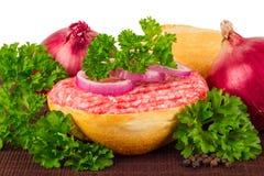 Het broodje van de knoeiboel Royalty-vrije Stock Afbeeldingen