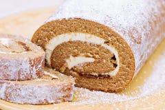 Het Broodje van de pompoen royalty-vrije stock afbeelding