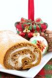 Het Broodje van de pompoen Stock Foto