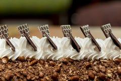 Het broodje van de roomijscake Royalty-vrije Stock Afbeeldingen