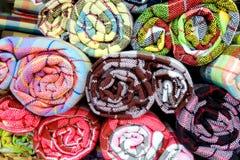 Het broodje van de sjaal Stock Fotografie