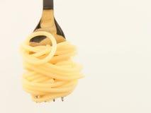 Het broodje van de spaghetti Royalty-vrije Stock Fotografie