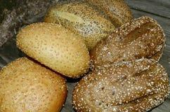 Het broodje van het brood Stock Afbeelding