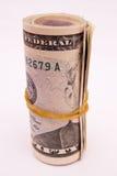 Het broodje van het geld Stock Fotografie