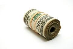 Het broodje van het geld Stock Afbeelding