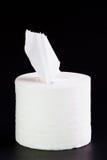 Het broodje van het papieren zakdoekje. Stock Afbeelding