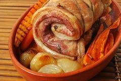 Het broodje van het varkensvlees Royalty-vrije Stock Fotografie