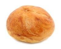 Het Broodje van Kaiser dat over Wit wordt geïsoleerd Royalty-vrije Stock Afbeelding