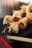 Het broodje van sushi Stock Fotografie