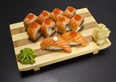Het broodje van sushi royalty-vrije stock foto's