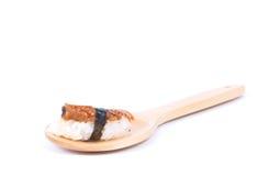 Het broodje van sushi Stock Afbeelding