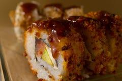 Het broodje van sushi Royalty-vrije Stock Foto