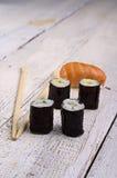 Het broodje van sushi royalty-vrije stock afbeeldingen