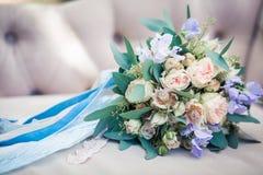 Het bruid` s boeket Royalty-vrije Stock Fotografie