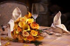 Het bruids Boeket van het Huwelijk Stock Afbeeldingen