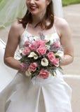 Het bruids Boeket van het Huwelijk Royalty-vrije Stock Foto's