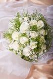 Het bruids boeket van het huwelijk Stock Fotografie