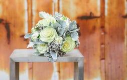 Het bruids boeket van het huwelijk Royalty-vrije Stock Afbeelding