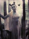 Het Bruidsmeisje van de vlinder Stock Foto's