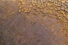 Het bruine Beton van de Muur Royalty-vrije Stock Foto's